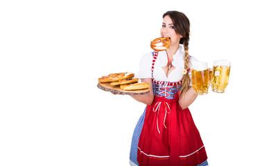 Oktoberfest Bedienung