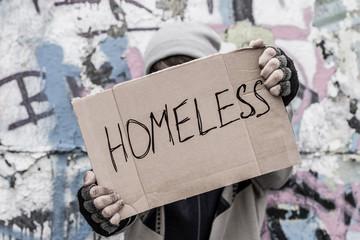 Homeless pray for home