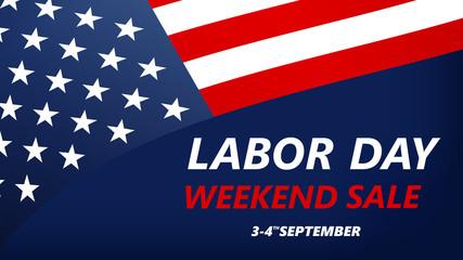 Labor Day USA vector illustration