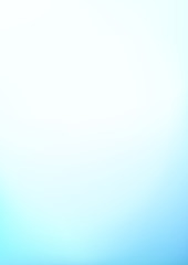 Abstract Light Blue Blurred Vector Portrait Background