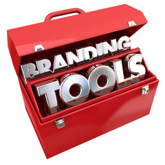 Branding Tools Marketing Company Business Awareness Toolbox 3d I