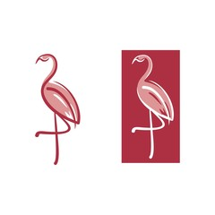 Flamingo Simple Logo