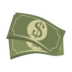 bill money cash economy financial fortune rich bank vector illustration