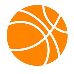 Basket Ball, Isolated on white