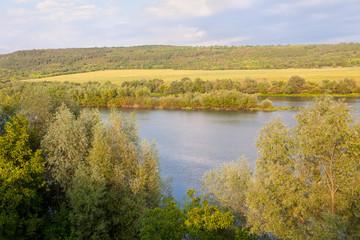 scenery on the riverside