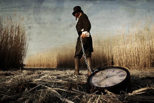 Seelwart, der Zeitdieb - Der Zeit beraubt, verschwunden die Jahre und Sekunden, gesucht und dabei ergraut, als einer von Seelwarts Kunden.