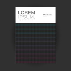 Cover Design Geometric Lines. Applicable for Covers, Placards, Posters, Flyers and Banner Design.