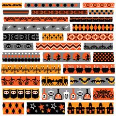 halloween washi clipart