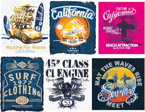 907e16ee8d18 Surf sport typography