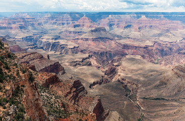 Grand Canyon National Park at South Rim, Arizona, USA