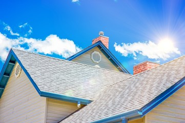 House Roof Roofing Business Wall mural