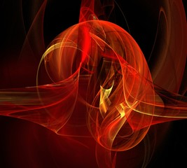 Abstract flame/Abstract image for background and other