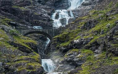 Wall Mural - Norway Camper Van Trip