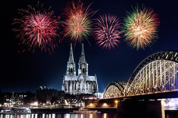 Köln Feuerwerk