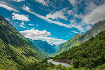 Wall Mural - Scenic Norway Landscape