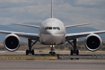Boeing 777 Fototapete