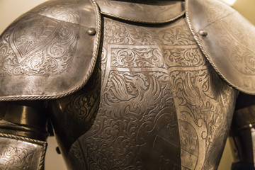 Fragment of ancient armor