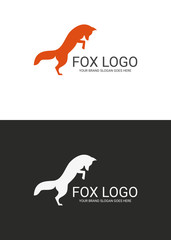 Fox logo. Two versions