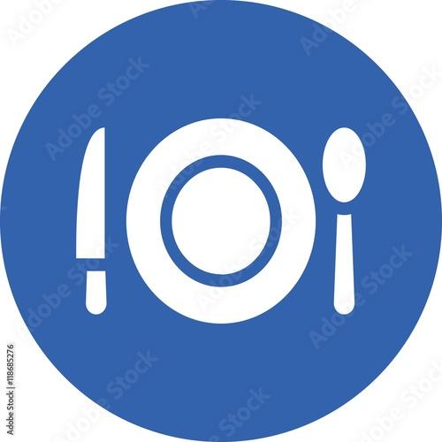 knife and fork restaurant service kitchen meal dinning dishware