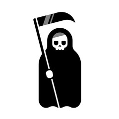 Death with scythe