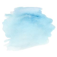 Abstract Watercolor round spot textured background. Hand drawn w