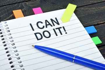 I can do it word on notepad