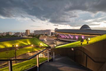 Sports hall Spodek in Katowice, Poland