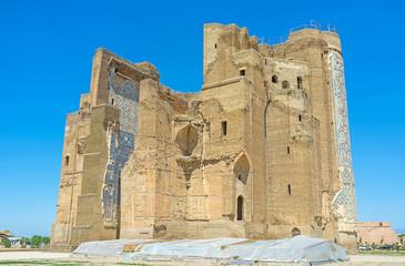 The ruins of Ak-Saray Palace