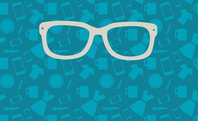 Fondo hipster azul