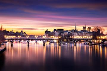 Parisian Sunset - Pont des Arts