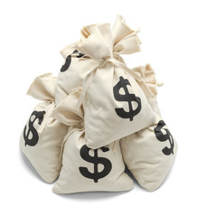 Pile of Money Bags