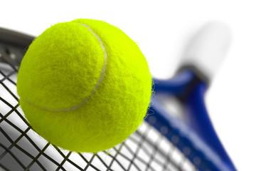 Tennis Racket Closeup