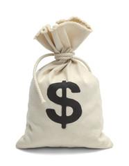 Tied Bag of Money