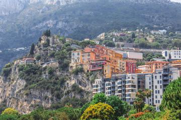 Monaco Monte Carlo mountain view