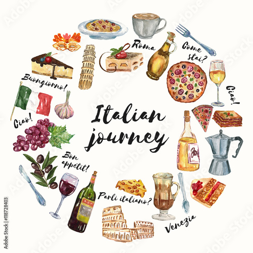 Italian journey cuisine food culture language hello for Avventura journeys in italian cuisine