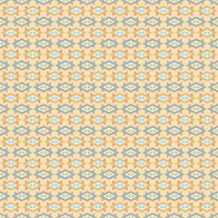 Ethnic boho seamless patterns. Abstract vintage ornament. Vector