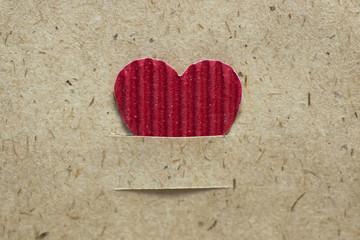 heart shape paper background