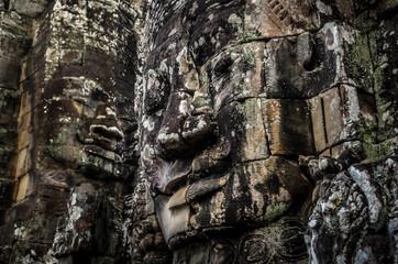Angkor Wat temple statue
