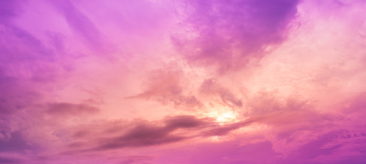 image of sky on evening time with purple tone .