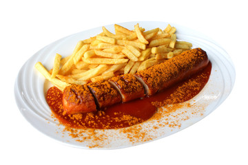 Currywurst / Berlin snack food
