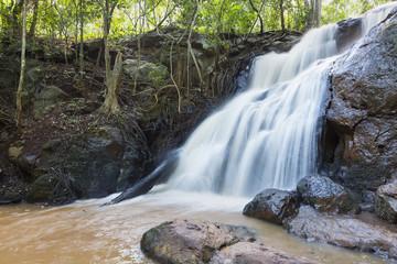Wall Mural - Waterfall in Karura Forest, Nairobi, Kenya