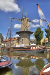Gouda Windmill, Holland