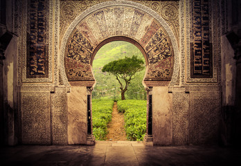 gate to paradise Wall mural