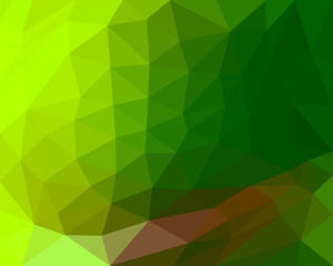 polygon background beautiful color gradient green hue