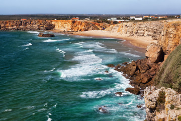 Wall Mural - Algarve coast and beach