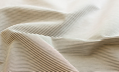 Stripe Crumpled Fabric Texture