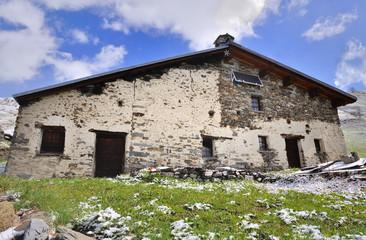 ancien chalet de Savoie
