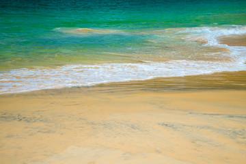 Beautiful tropical sea beach summer holiday