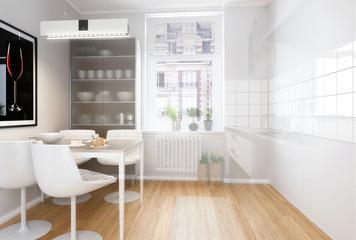 Moderne Einbauküche (Vision)