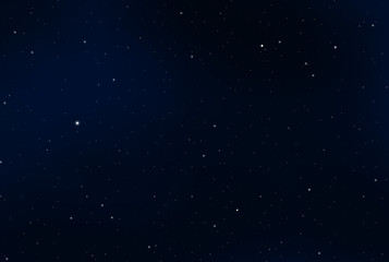 night sky graphic design illustration, dark blue night sky, vector night sky full of stars,
